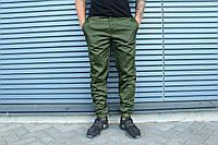 Штаны HLGN, стильные, модные (зеленые) S