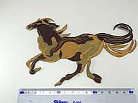 Нашивка Лошадь 19х12,5см