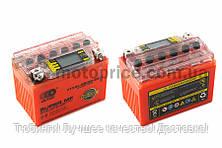 """АКБ   12V 4А   гелевый   """"OUTDO""""   (114x71x88, оранжевый, с индикатором заряда, вольтметром)"""