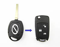 Корпус выкидного ключа Ford Focus Mondeo Fiesta с лезвием FO21