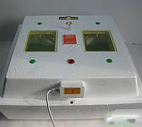 Інкубатор для яєць побутової Квочка на 80 яєць з цифровим терморегулятором МІ-30-1 з ручним переворотом, фото 1