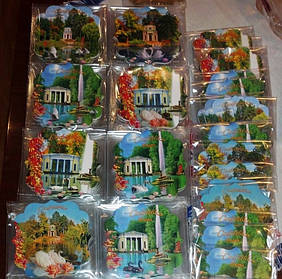 Сувенирные мягкие магниты на заказ в г. Умань. Размер 90х90 мм 2