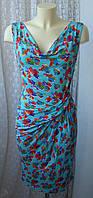Платье женское легкое летнее вискоза стрейч Casual р.42-44 6203а