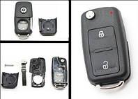 Корпус выкидного ключа Volkswagen 2 кнопки после 2009г