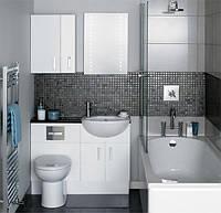 Как подобрать мебель для маленькой ванной