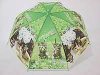 Детский зонт с кошечками 3-8 лет