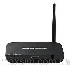 Медиаплеер (смарт-box TV) Andoer F7 андроид 4.4 RK3128 Quad 1Gb /8