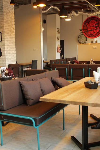Urban Wok Cafe. В новый год с новой мебелью. 14
