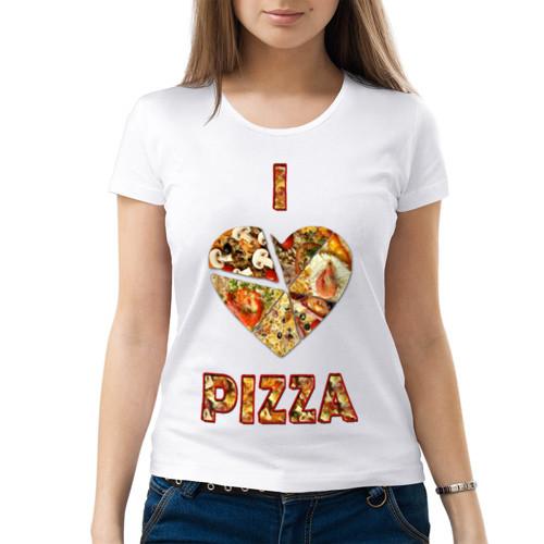 Футболка I love pizza»