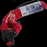 Противоугонный велозамок, 90 см, красного цвета, фото 1