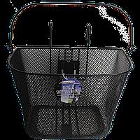 Металическая корзина с крючками для велосипеда Bicycle Gear