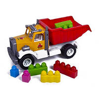 Детская Машина Грузовик с конструктором, Kinder Way, 12-010-71