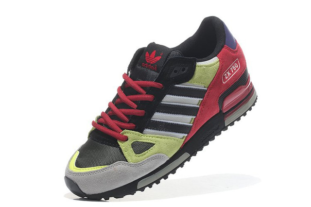 Adidas ZX750 Yellow Red