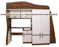 Детская кровать - чердак Балу. Детская стенка. Мебель в детскую.