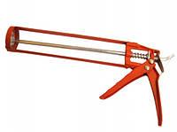 Пистолет для силикона красный (скелет)