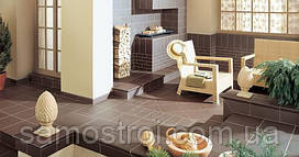 Плитка фасадная Natural Brown 6.5х24.5