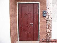 Двустворчатые входные двери МДФ 2020х1300