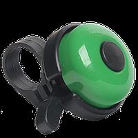 Звонок для велосипеда Bicycle Gear, зеленого цвета