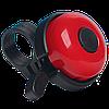 Звонок для велосипеда Bicycle Gear, красного цвета