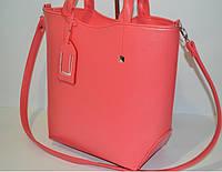 Женская сумка  Тоут, коралл