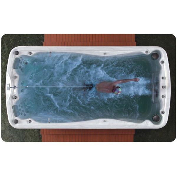 Плавательный SPA бассейн с противотоком - FITNESS (4.50*2.20*1.50)