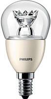 Лампа светодиодная PHILIPS_MAS LEDlustre DT 6-40W(470Lm) P48 CL_E14 диммируемая