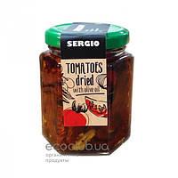Томаты сушеные в оливковом масле Sergio 165г