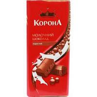 Корона Молочный пористый шоколад 90г