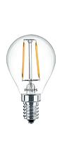 Лампа светодиодная PHILIPS_LED Fila 2.3-25W WW P45_E14 филамент