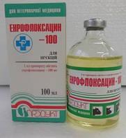 Энрофлоксацин-100 100мл №1 (энрофлоксацин) для инъекций
