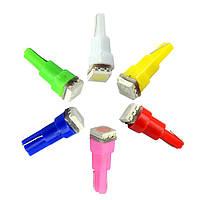 Светодиодная лампа цоколь T5 (W1.2W) 1-SMD 5050, 12В