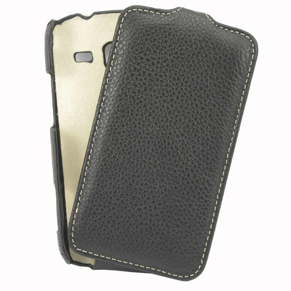 Чехол Samsung Galaxy Ace 2 i8160 VettiCraft Slim Flip Normal Black