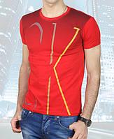 Футболка мужская Calvin Klein-2013-29 красная