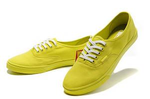 Женские кеды Vans Era лимонные