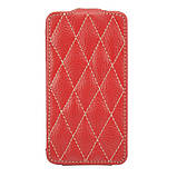 Чехол для iPhone 4S VettiCraft Slim Flip Diamond Red, фото 3