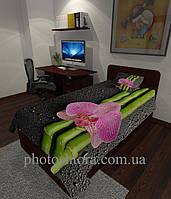 Фотопокрывало Орхидеи и бамбук 2
