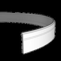 Плинтус из полиуретана Европласт 1.53.103 (гибкий)