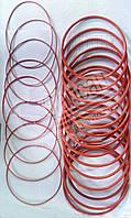 Ремкомплект двигателя РТИ из 2-х наименований (кольца) красный силикон . 7405-1002008-51