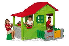 Дом Садовый с аксессуарами, размер 160х156х140 см, 3+