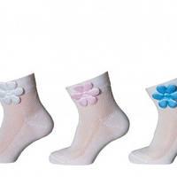 Носки на девочку Дюна белые 9В468