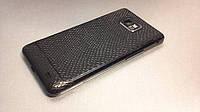 "Декоративная защитная пленка для Samsung Galaxy S II ""рептилия черная"", фото 1"