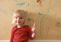 Магнитные, маркерные и грифельные краски в детской.
