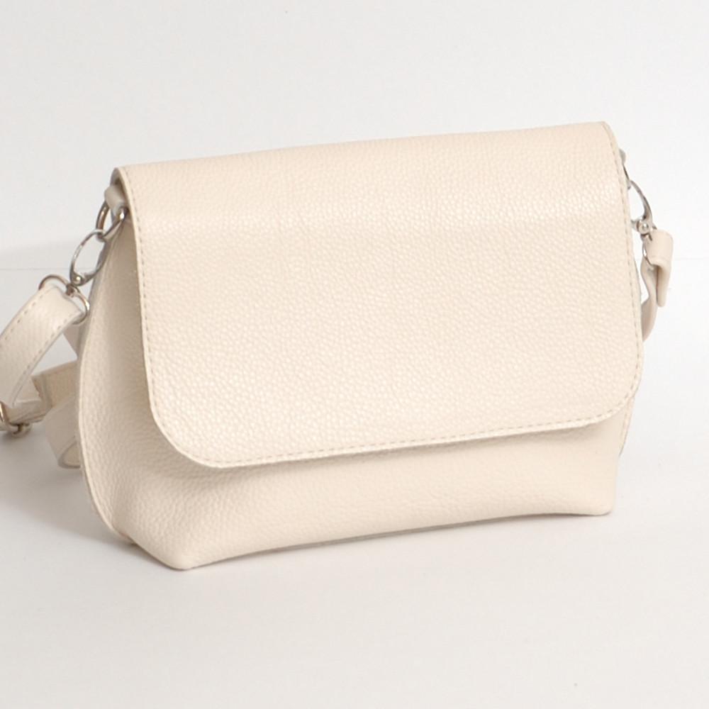 b08e20573c42 Кожаная женская сумка летняя, бежевый флотар - Интернет-магазин