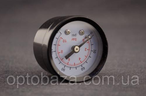 Манометр малый (металл) G1/4 для компрессора