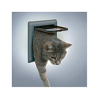 Trixie TX-38602  дверца для кота 2-Way Cat Flap  (21 × 21 см,2 магнита)