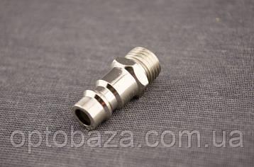 Соединитель с внешней резьбой и штуцер 1/4 для компрессора, фото 2
