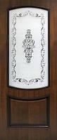 Межкомнатная дверь Дверь Omis Наполеон СС (2000 x 600 x 40 мм x Миланский орех)