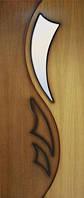 Дверь Omis Лилия 2 СС 2000 x 600 x 40 мм x Дуб натуральный