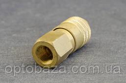 Соединитель с внутренней резьбой 1/4 для компрессора, фото 2