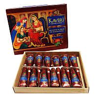 Хна для тату (для мехенди) Kaveri натуральная 12 конусов